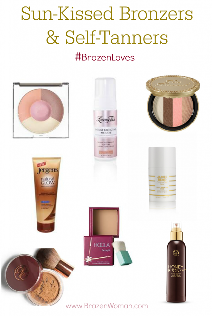 #BrazenLoves Sun-Kissed Bronzers and Self-Tanners