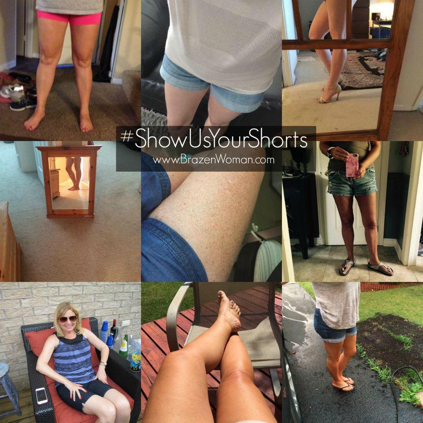 Breaking News: Women over 35 Wear Shorts! #ShowUsYou Shorts