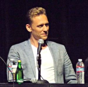 Tom Hiddleston Nerdist San Diego Comic Con 2015