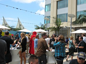 Wired Cafe San Diego Comic Con 2015