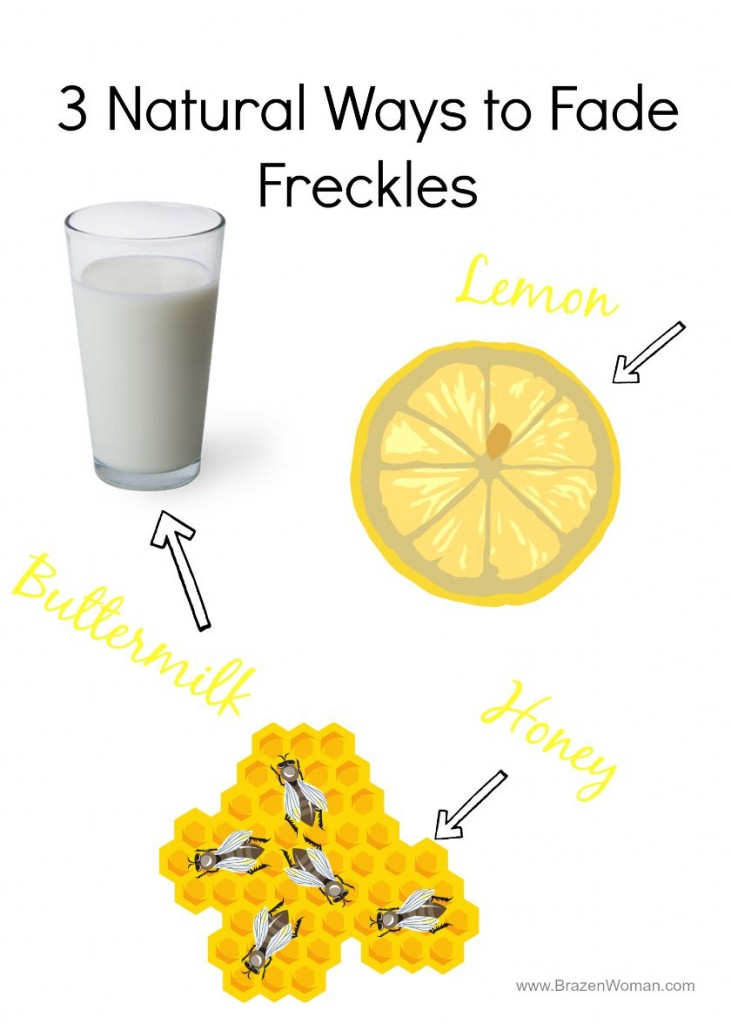 3 Natural Ways to Fade Freckles