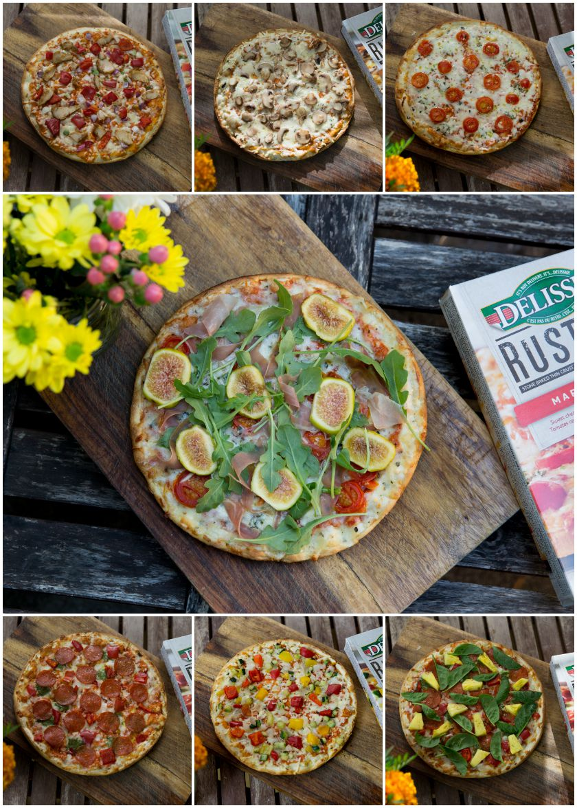 how to cook delissio pizza on bbq