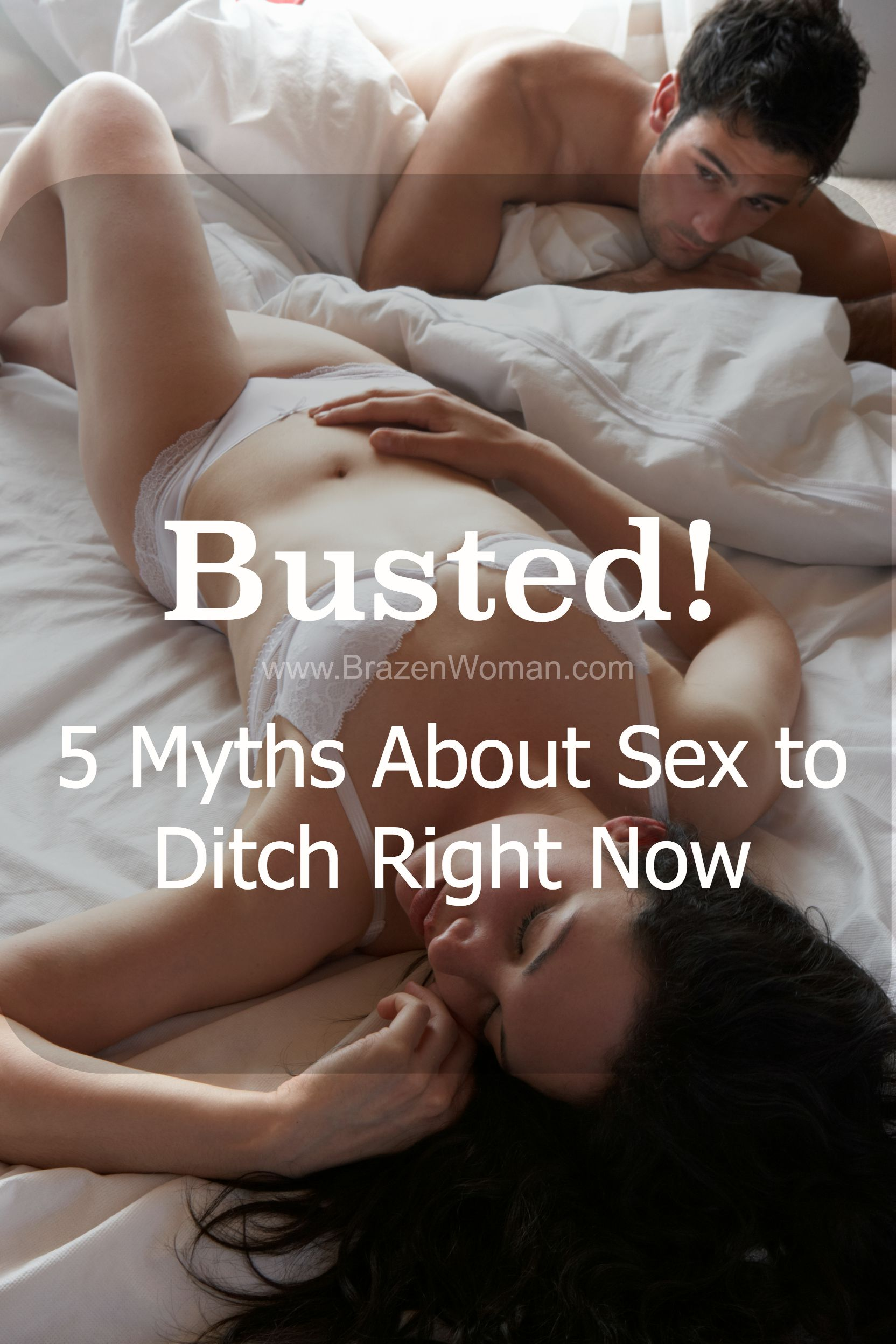 Busted 5 Myths About Sex You Need to Stop Believing