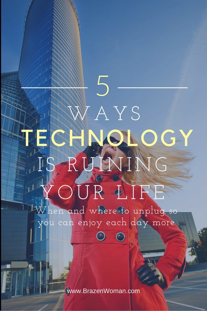 5 Areas of Your Life Being Ruined by Technology