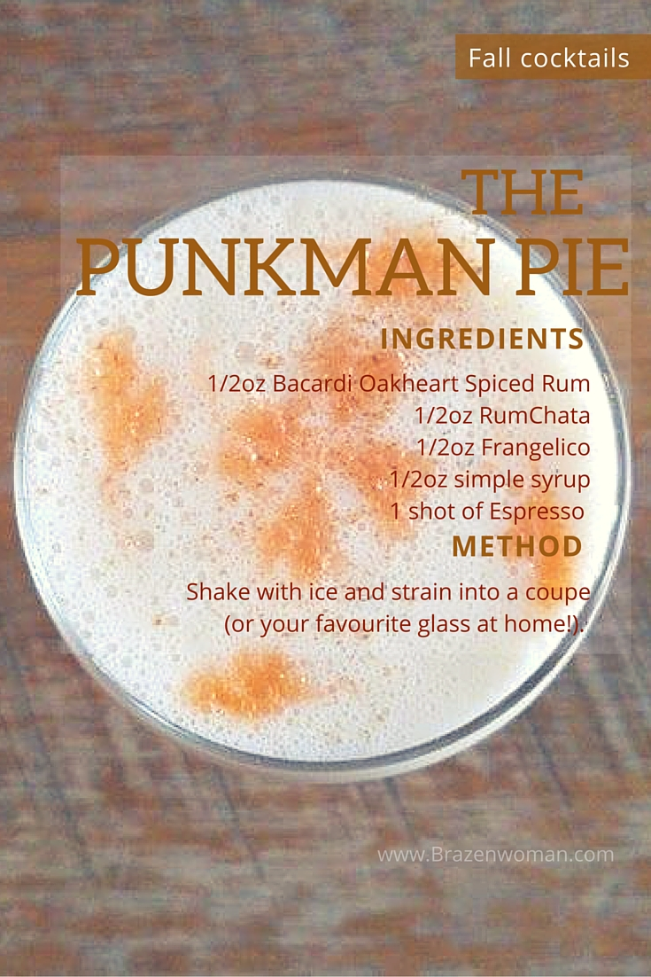 Fall Cocktails: The Punkman Pie
