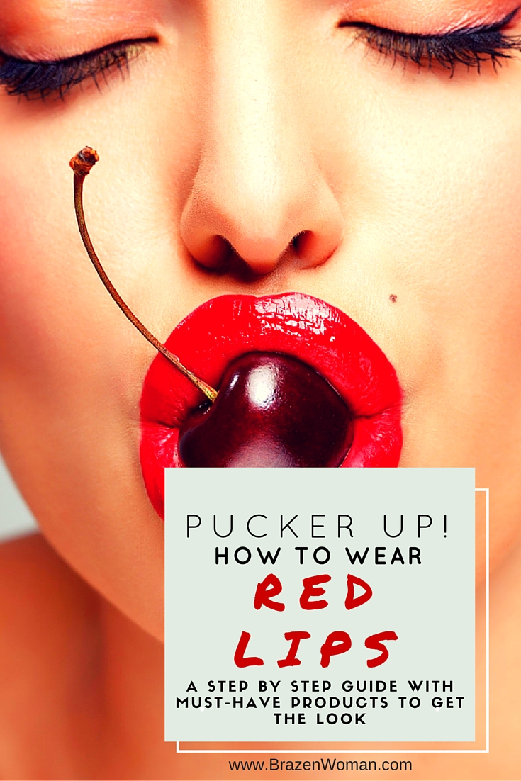 Pucker Up: How to Apply Red Lipstick Like a Pro