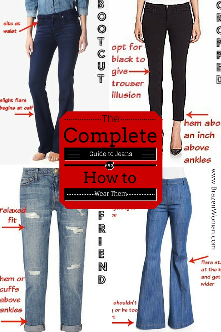 The Complete Guide to Jeans and How to Wear Them