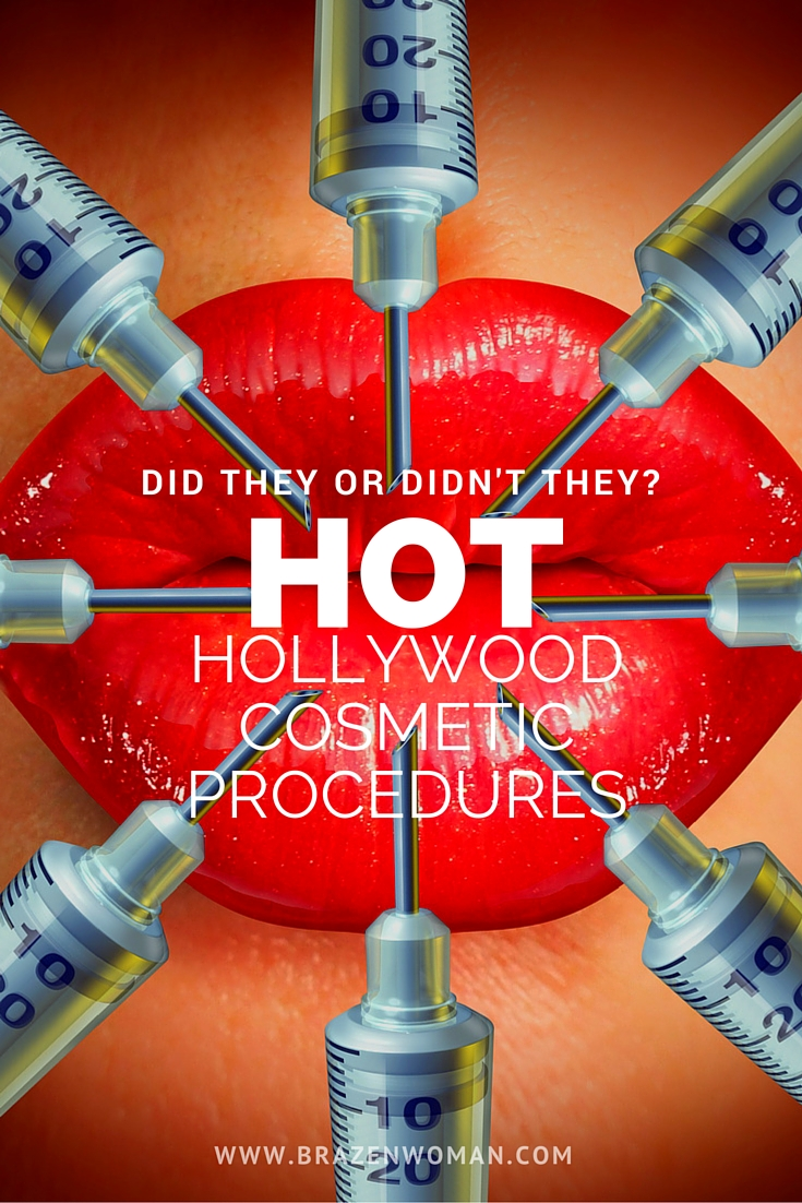 Did They or Didn't They? Hollywood Stars and their Cosmetic Procedures