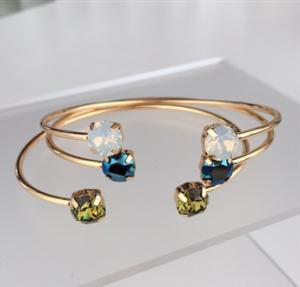 Brazen Editor's Picks: Swarovski Isabelle Grace Stackable Gemstone Bracelet
