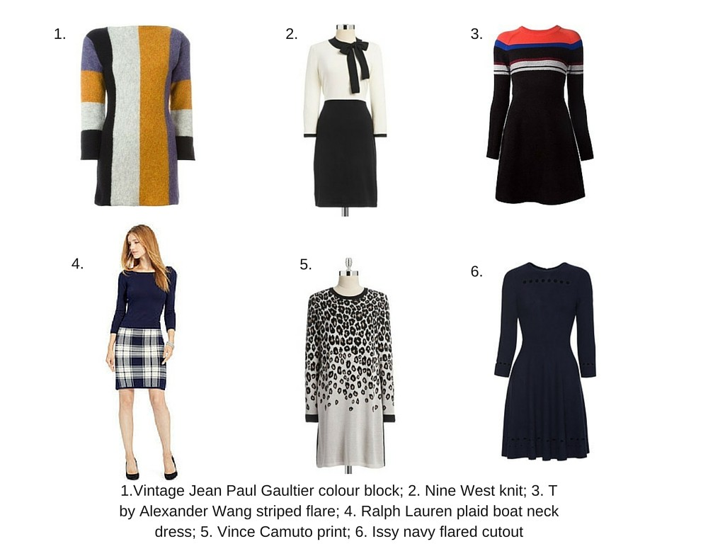 How to Wear the Sweater Dress
