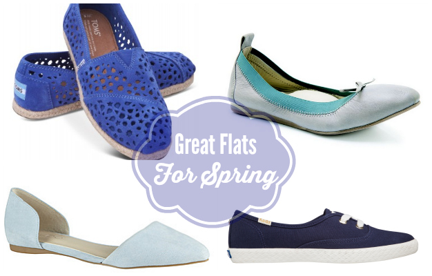 FOUR WAYS TO WEAR FLATS FOR SPRING