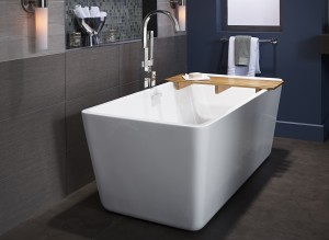 AS Loft Freestanding Tub with Times Square Tub Filler - Beauty