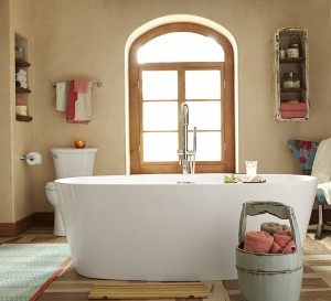 Read in the Tub day - Serin Freestanding Tub with Serin Tub