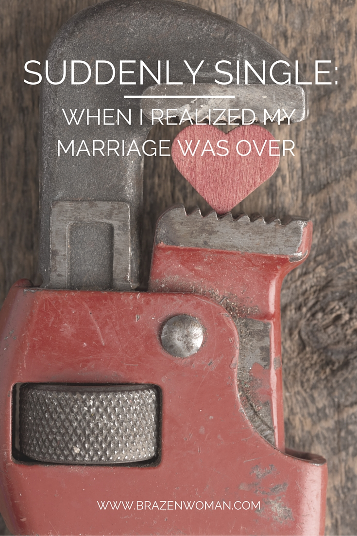 SUDDENLY SINGLE-What Happened When My Marriage Ended