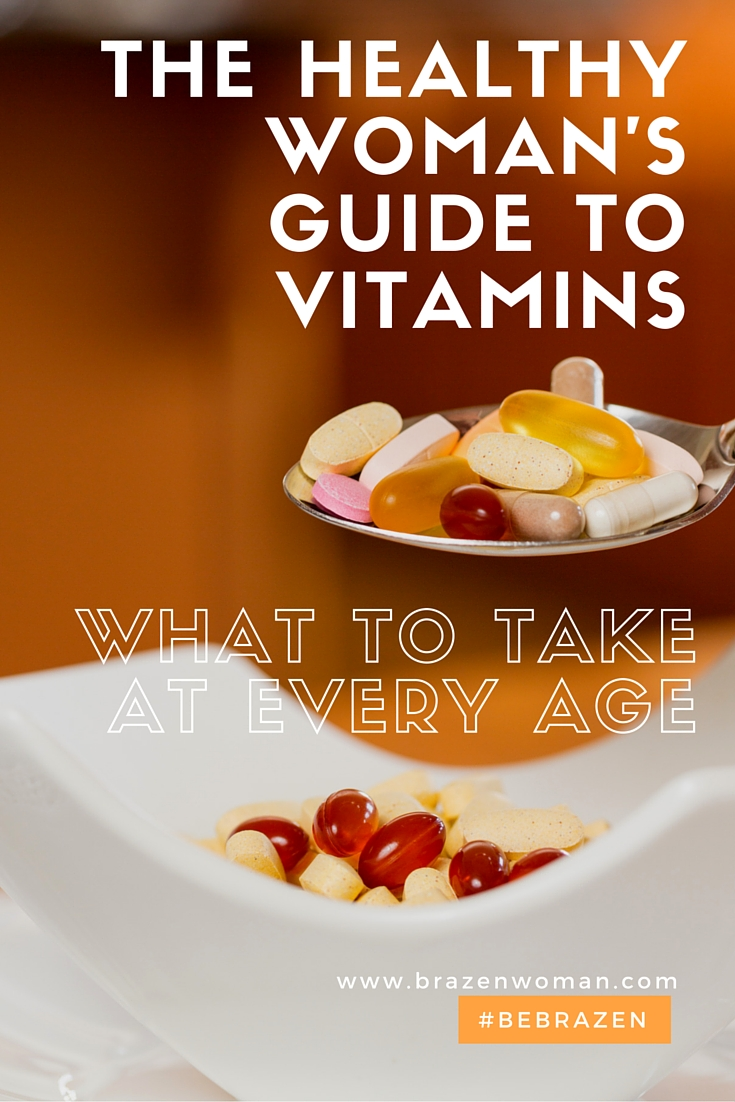 the Vitamin Guide: What Women Should Take in their 30s, 40s and 50s
