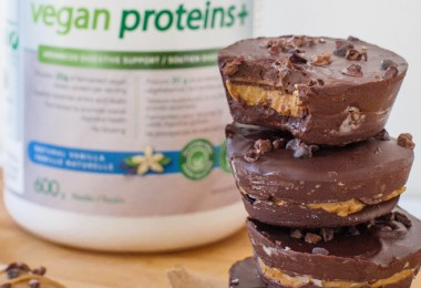 Guilt-Free-Chocolate Peanut Butter Protein Cups