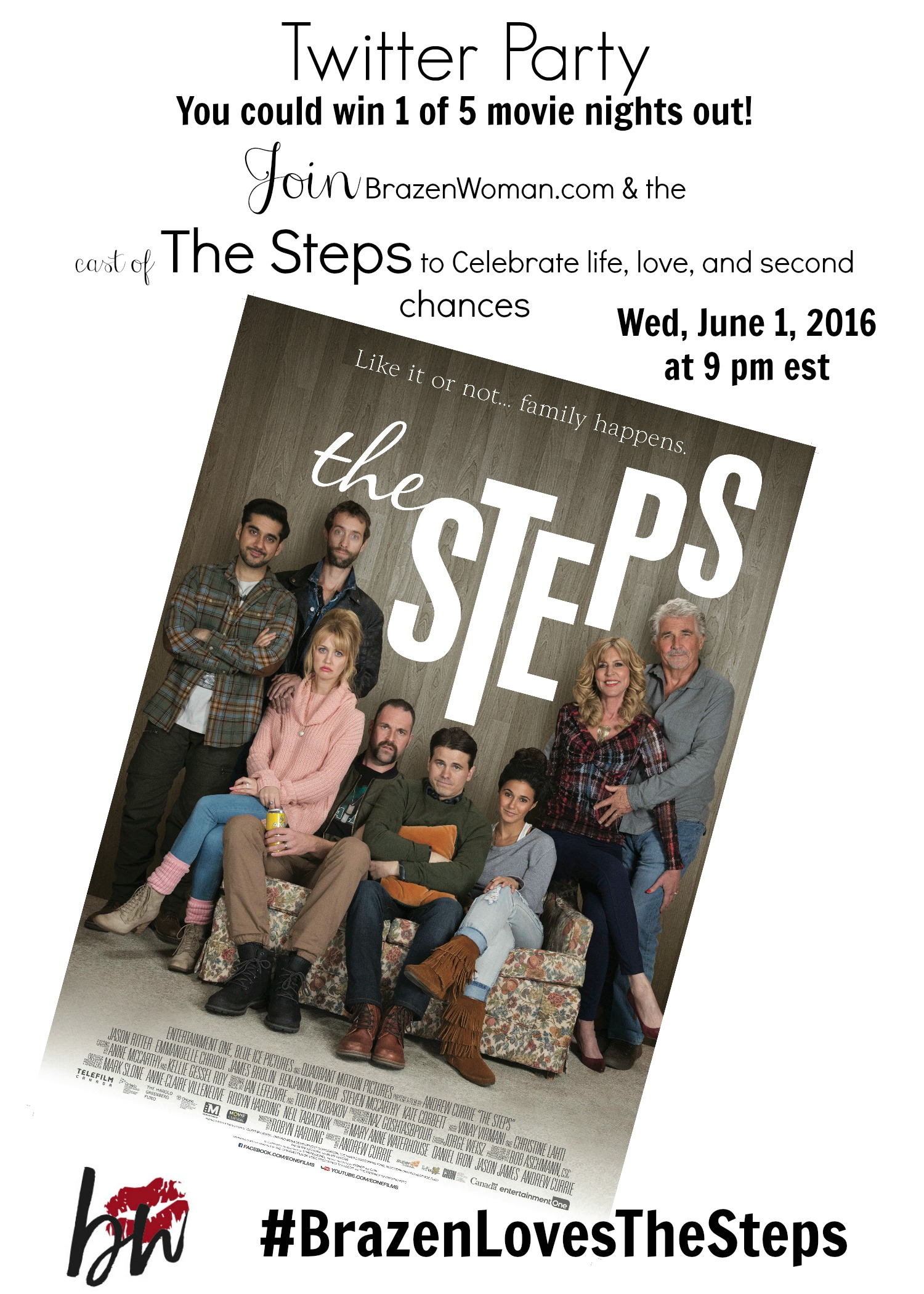 The Steps Party Promo NL