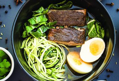 Slow Cooking: Paleo Faux Pho with Zucchini Noodles