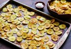 Paleo Nachos with Baked Plantain Chips