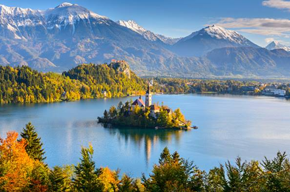 Colour Yourself Happy: The Top 9 Spots to Discover Fall - Lake Bled, Slovenia