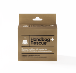 Handbag Rescue cleaning wipes