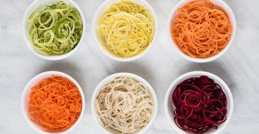 Colourful Spirals: The Hamilton Beach 3-in-1 Spiralizer
