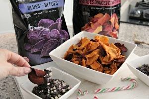 Holiday Appetizers: Terra Chips Hot Fudge Dip