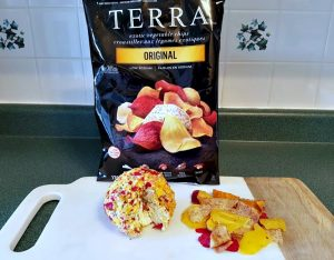 Holiday Appetizers: Terra Chips Cheese Ball