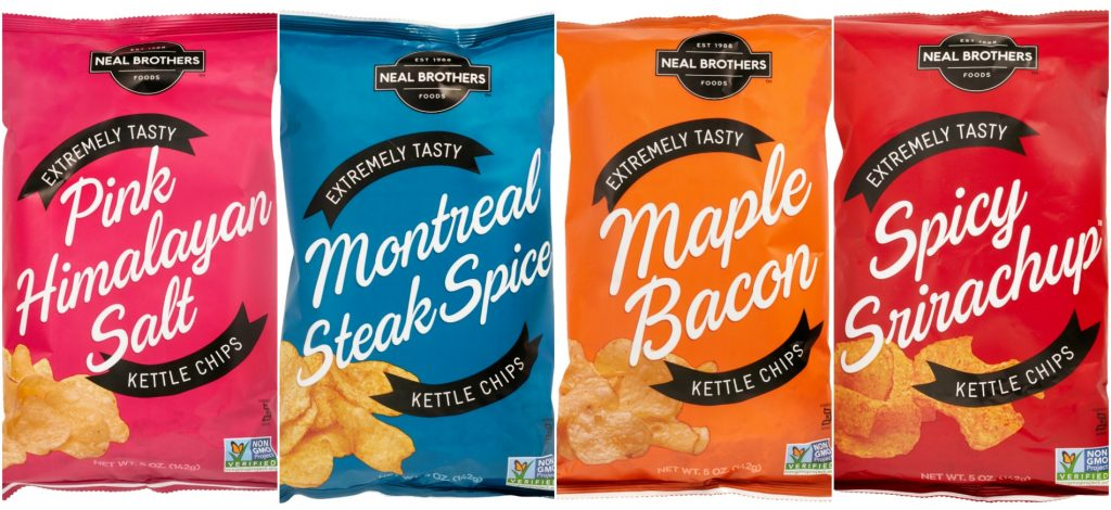 Brazen Loves: Neal Brothers Kettle Chips