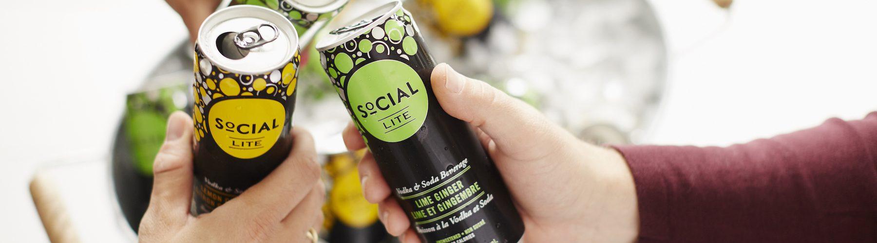 Brazen Loves Low Sugar 80 Calorie SoCIAL LITE Vodka Cocktails