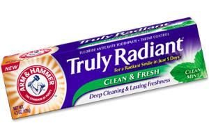 Brazen Loves: Arm & Hammer Truly Radiant Clean & Fresh Toothpaste