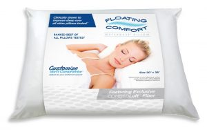 Brazen Loves: The Mediflow Floating Comfort Waterbase Pillow