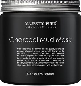 Majestic Pure Cosmeceuticals Charcoal Mud Mask