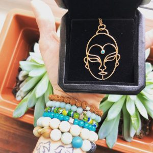Brazen Loves: The Rose Gold Buddha Necklace from Orient Express Design