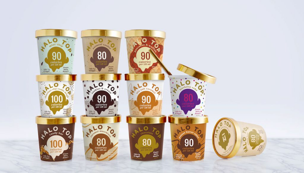 Brazen Loves: Low-Fat Halo Top Ice Cream
