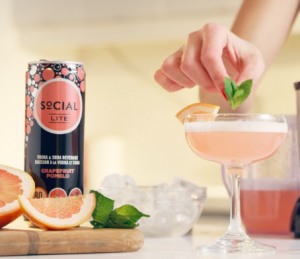 Brazen Loves: Vodka Recipes with SoCIAL LITE Vodka